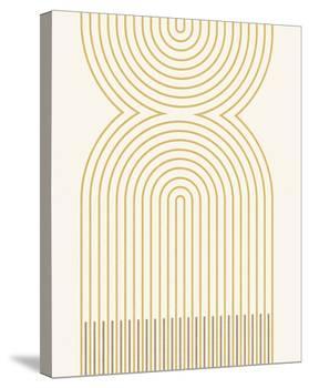 Genthin - Golden-Maja Gunnarsdottir-Stretched Canvas