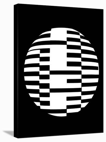 Geometric Ball I-Max Carter-Stretched Canvas Print