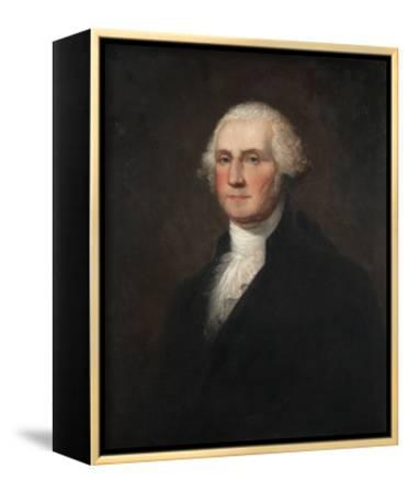 George Washington-Rembrandt Peale-Framed Canvas Print
