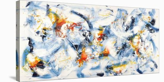 Gestures in Motion-Bob Ferri-Stretched Canvas Print