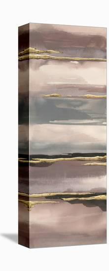 Gilded Morning Fog IV Gold-Chris Paschke-Stretched Canvas Print