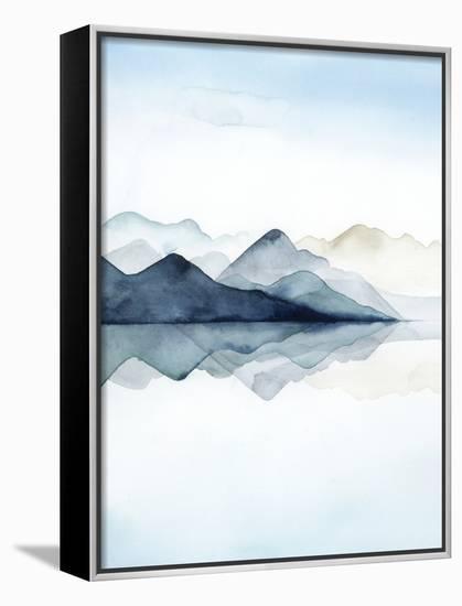 Glacial I-Grace Popp-Framed Canvas Print