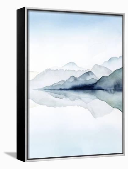 Glacial II-Grace Popp-Framed Canvas Print