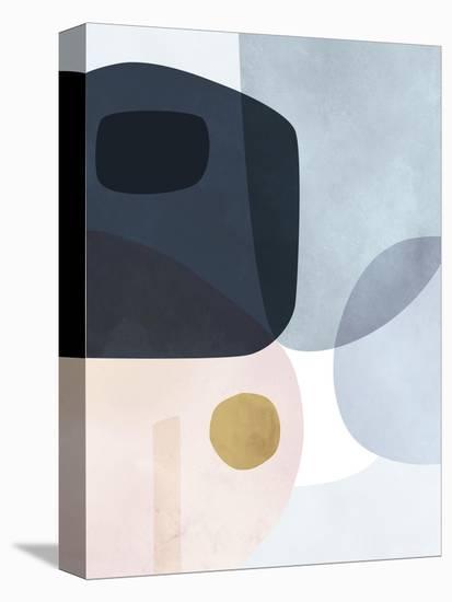 Gold Monde I-Victoria Borges-Stretched Canvas Print