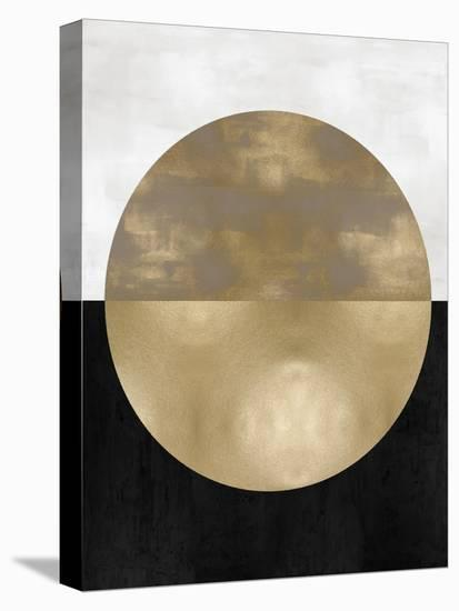 Gold Sphere-Justin Thompson-Stretched Canvas Print