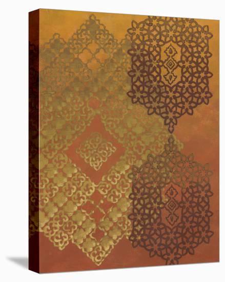 Golden Henna II-Chariklia Zarris-Stretched Canvas Print