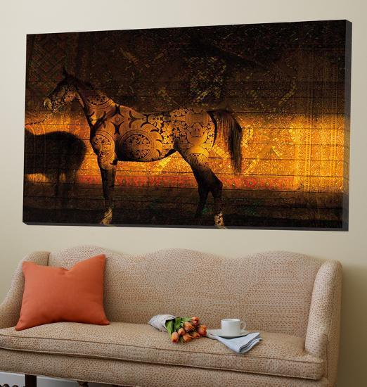 Golden Thai Arabian-Daniel Stanford-Loft Art