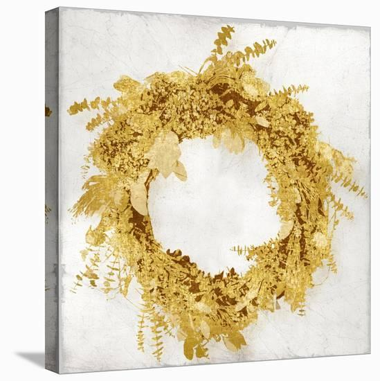 Golden Wreath II-Kate Bennett-Stretched Canvas Print
