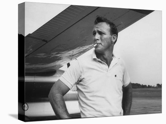 Golfer Arnold Palmer-John Dominis-Stretched Canvas Print