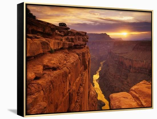 Grand Canyon from Toroweap Point-Ron Watts-Framed Canvas Print
