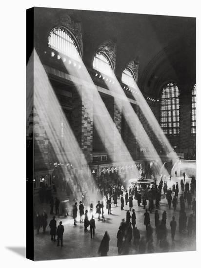 Grand Central Station-The Chelsea Collection-Stretched Canvas Print