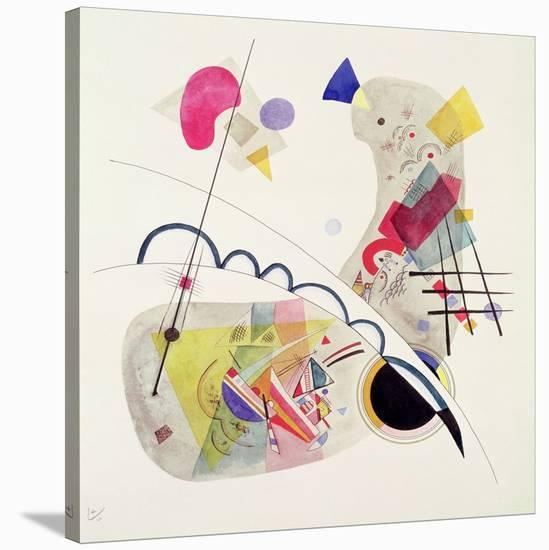 Grave Forme-Wassily Kandinsky-Stretched Canvas Print