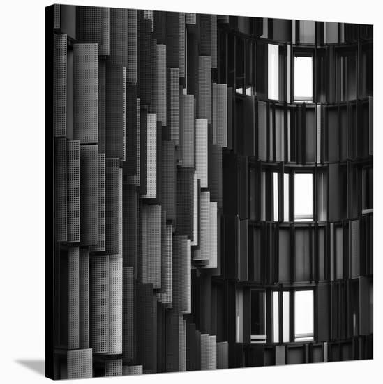 Grays Break Up-Gabriele Cavazzini-Stretched Canvas Print