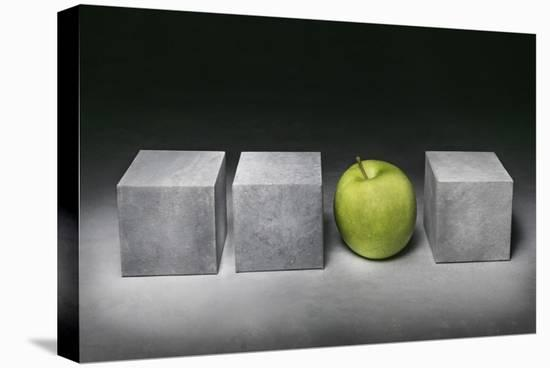 Green-Christophe Verot-Stretched Canvas Print