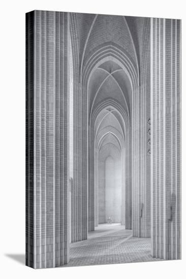 Grundtvigs Kirke-Martin Fleckenstein-Stretched Canvas Print