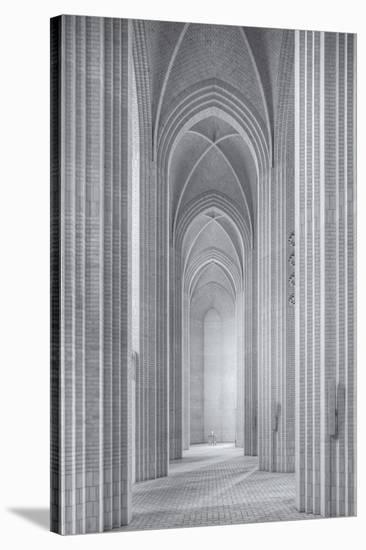 Grundtvigs Kirke-Martin Fleckenstein-Stretched Canvas Print