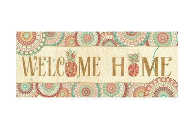 Gulf Stream Welcome Home-Veronique Charron-Stretched Canvas Print