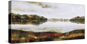 Haliburton Lake-Zenon Burdy-Stretched Canvas
