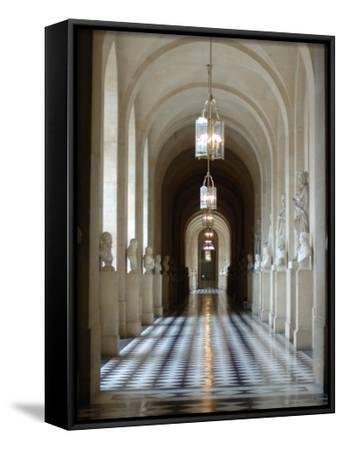 Hallway, Versailles, France-Lisa S^ Engelbrecht-Framed Canvas Print