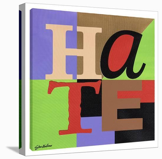 Hate-Steve Kaufman-Gallery Wrapped Canvas