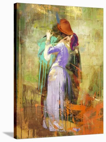 Hayez's Kiss 2.0-Eric Chestier-Stretched Canvas Print