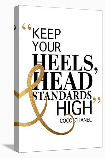 High Standards-Amanda Greenwood-Stretched Canvas Print