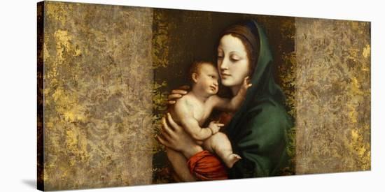 Holy Virgin (Italian school)-Simon Roux-Stretched Canvas Print