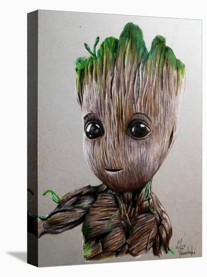 I Am Root-Manuela Lai-Stretched Canvas Print