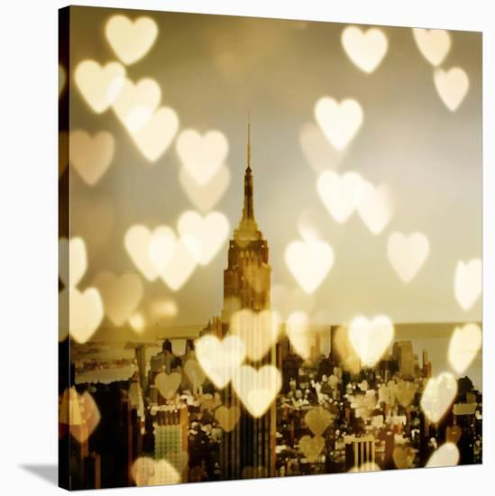 I Love NY II-Kate Carrigan-Stretched Canvas Print