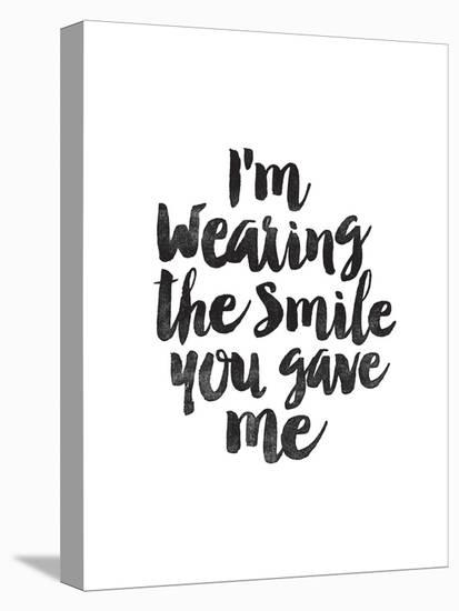Im Wearing the Smile You Gave Me-Brett Wilson-Stretched Canvas Print