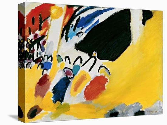 Impression III (Concert)-Wassily Kandinsky-Stretched Canvas Print