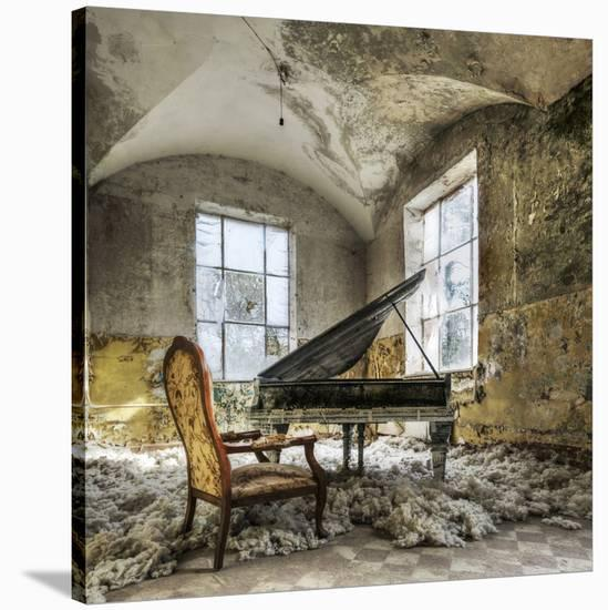 [in Heaven]-Mario Benz-Stretched Canvas Print