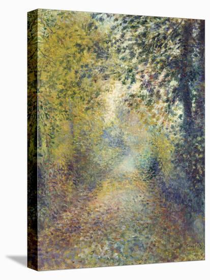 In the Woods, C. 1880-Pierre-Auguste Renoir-Stretched Canvas Print