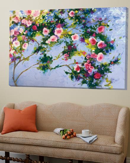 Inspiration Monet-Shirley Novak-Loft Art