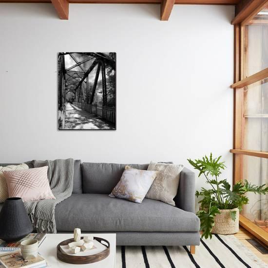 Iron And Vine Stretched Canvas Print Mark Polege Art Com