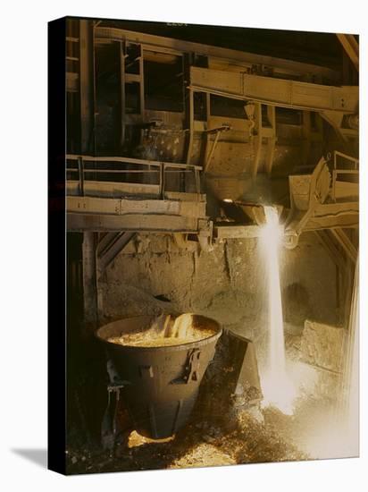 Iron Forge, Bethlehem, Pennsylvania-Fritz Goro-Stretched Canvas Print
