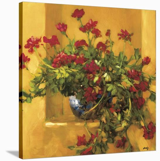 Ivy Geraniums-Philip Craig-Stretched Canvas Print