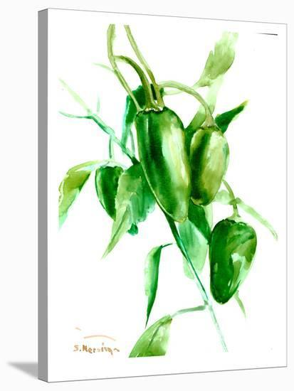 Jalapeno Pepper-Suren Nersisyan-Stretched Canvas Print
