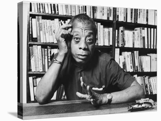 James Baldwin-Ted Thai-Stretched Canvas Print