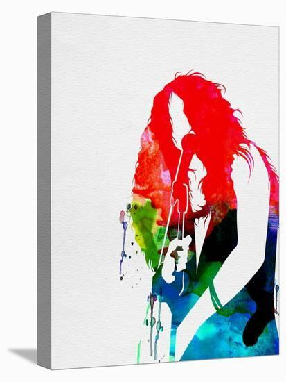 Janis Watercolor-Lana Feldman-Stretched Canvas Print