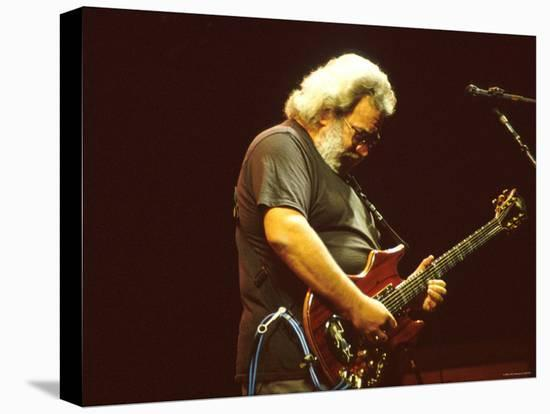 Jerry Garcia--Stretched Canvas Print
