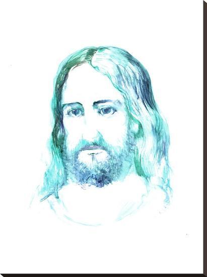 Jesus 3-Suren Nersisyan-Stretched Canvas Print