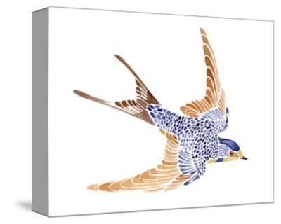 'Jeweled Barn Swallow I' Art Print - Jacob Green | Art.com