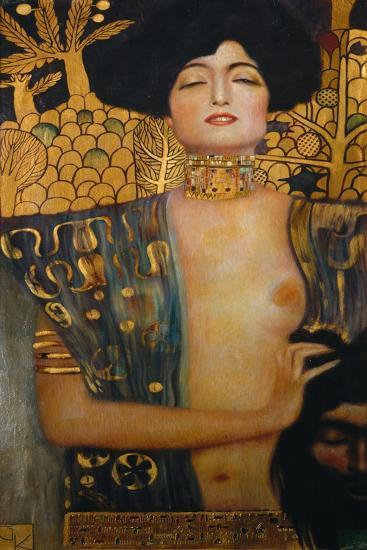 Judith I., 1901-Gustav Klimt-Premier Image Canvas