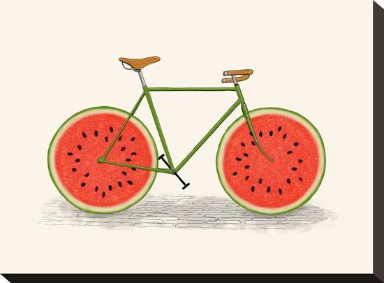Juicy Print-Florent Bodart-Stretched Canvas Print
