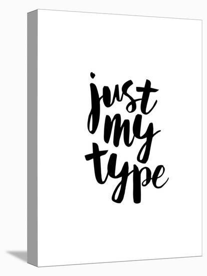Just My Type-Brett Wilson-Stretched Canvas Print