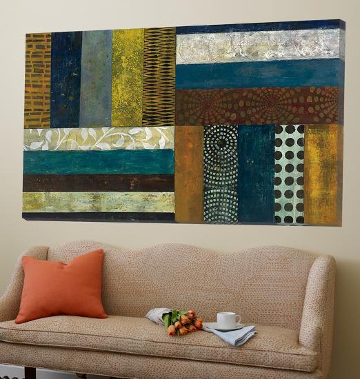 Juxtapose II-Cheryl Warrick-Loft Art