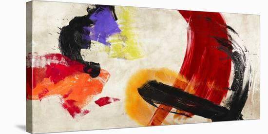 Ka-Boom-Chaz Olin-Stretched Canvas Print