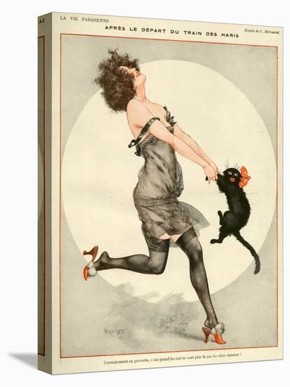 La Vie Parisienne, C Herouard, 1923, France-null-Premier Image Canvas