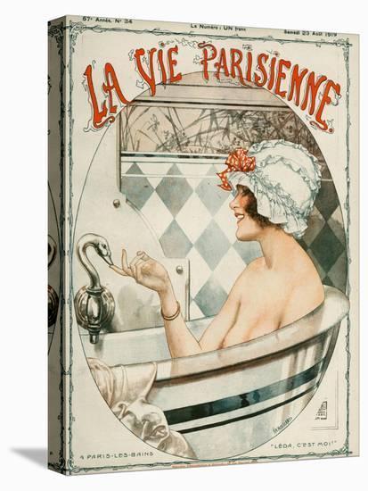 La Vie Parisienne, Cheri Herouard, 1919, France-null-Premier Image Canvas